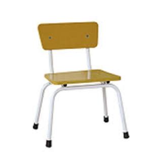 Ghế mặt gỗ chân sắt Mã DK103