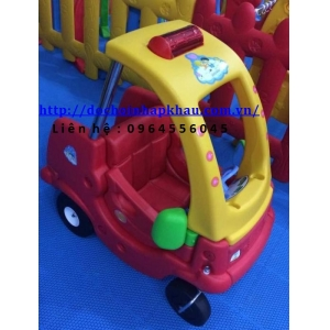Xe ô tô đạp chân Mã DK008-4